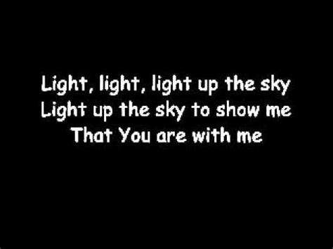 Light Up The Sky The Afters by Light Up The Sky The Afters Lyrics