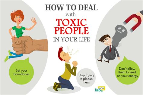 How To Deal With Toxic People In Your Life  Fab How