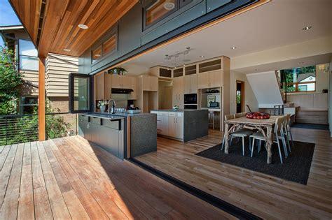 seattle kitchen  gallery nanawall operable