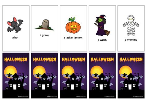 Debbie Sensei  Free Esl Halloween Flashcards