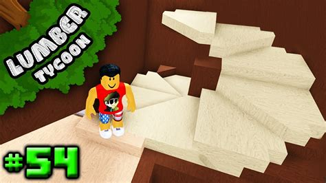 lumber tycoon  building  spiral staircase roblox