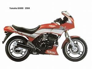 Yamaha Fj600  Fz600  Xj600  Yx600 1984
