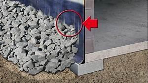 Comment Faire Un Drainage : la r alisation d 39 un drainage p riph rique ~ Farleysfitness.com Idées de Décoration