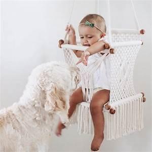 Fauteuil Suspendu Enfant : balancelle enfant fauteuil suspendu s lection lesf ~ Melissatoandfro.com Idées de Décoration