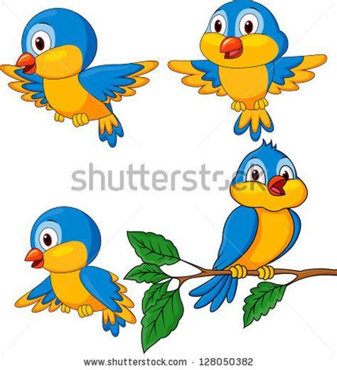 Funny Cartoon Bird Clip Art
