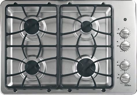 ge jgpsetss   gas cooktop   sealed burners powerboil  btu burner precise
