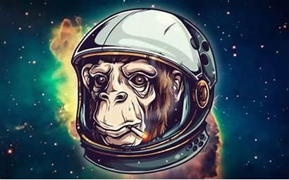 Space Illustration Chimp Tutorial Create Illustrator Adobe