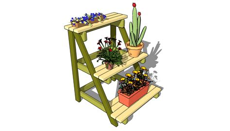 Wood Plant Stand Plans
