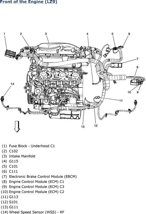 2005 Impala Engine Diagram by Repair Guides Wiring Systems 2006 Harness Routing