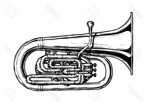 Marching Tuba Vector