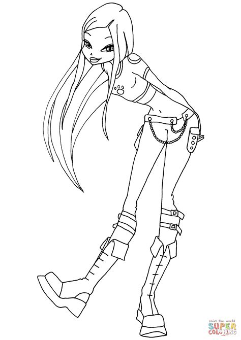 Winx Kleurplaten by Winx Club Coloring Page Free Printable Coloring Pages