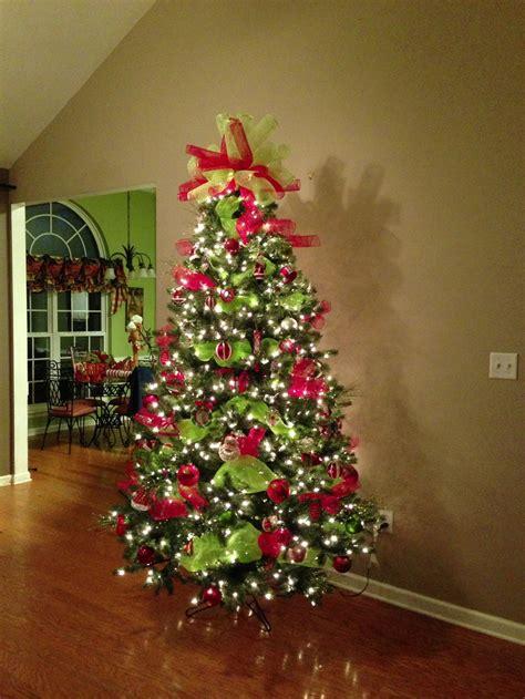 deco mesh tree topper deco mesh christmas tree topper