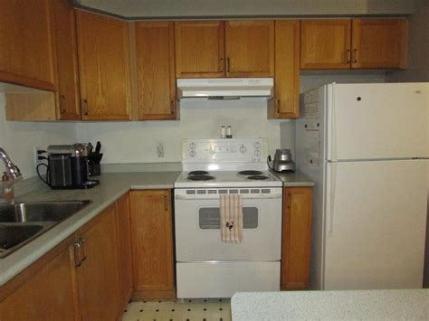 used kitchen cabinets ottawa oak kitchen cabinets with appliances sink and counters 6727