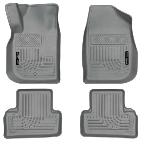 Pontiac G6 Carpet Floor Mats by Husky Weatherbeater All Weather Floor Mats For Chevy