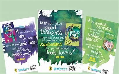 Ks2 Posters Pshe Dahl Roald Lesson English