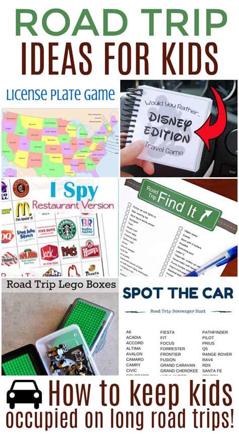 road trip idea road trip ideas for kids today s creative ideas