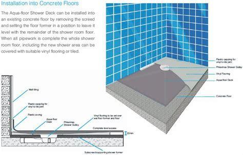 N and C Aquafloor Shower Deck 1500 x 1500mm P6820430