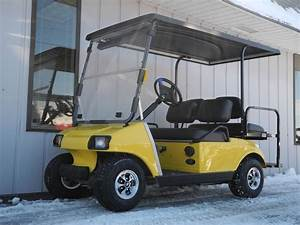 This 1996 Street Ready Club Car Ds Gas Golf Car Is