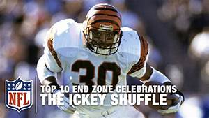#9 Ickey Woods: The Ickey Shuffle | Top 10 End Zone ...