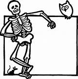 Coloring Sculpture Pages Skeleton Getcolorings Halloween Printable sketch template