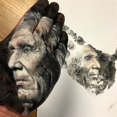 amazing hand painted portraits  russell powell