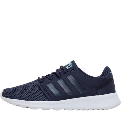 buy adidas womens cloud form qt racer trainers trace blue