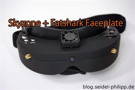 Skyzone Fpv Goggle Faceplate Hack