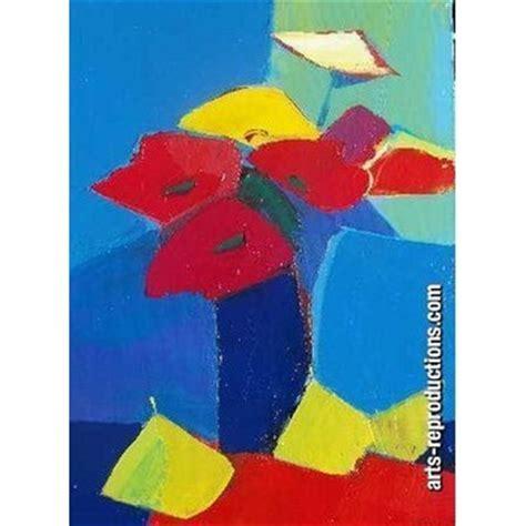 oeuvre d moderne yvnewab028 tableau tableaux fleurs arts reproductions peinture 224 l huile