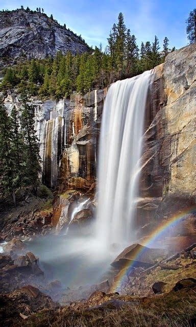 Vernal Fall Yosemite National Park California