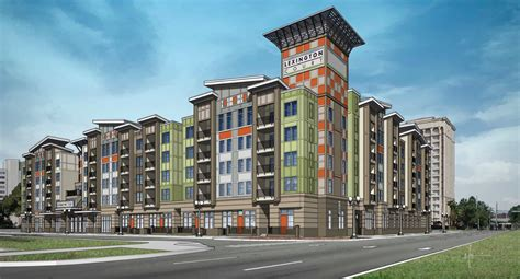 New Renderings Of Lexington Court Apartments Being Built