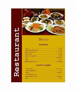 restaurant menu design templates With templates for restaurant menus
