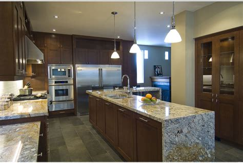 kitchen island tops kitchen trends waterfall edge counter tops callier and