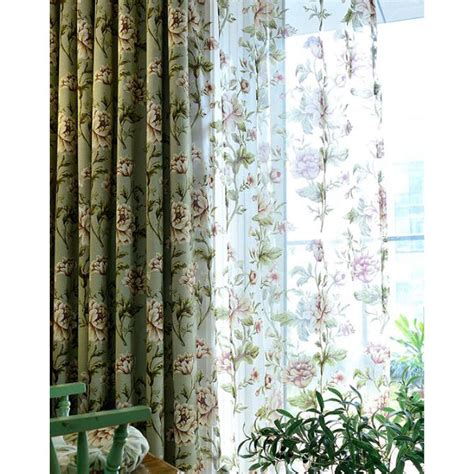 sage green waverly beautiful long room divider curtains