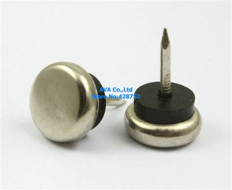 16 pieces 20mm metal chair nail glide nail furniture