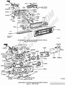 Ford Truck Part Numbers  Instrument Panel  U0026 Related