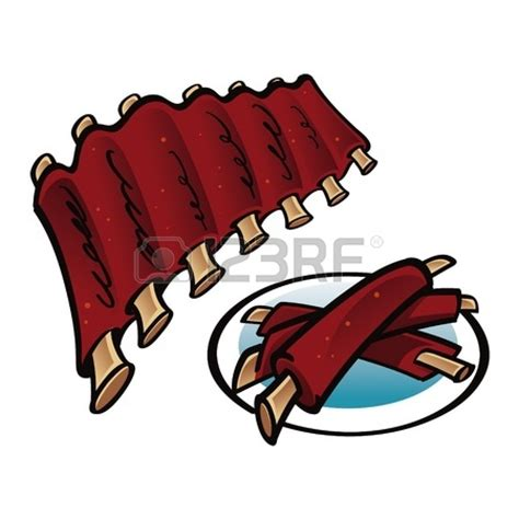 Bbq Clipart Free Ribs Clipart Clipart Suggest