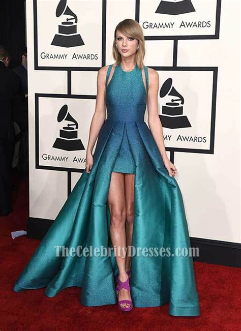 Taylor Swift Backless Prom Evening Dress 2015 Grammy Awards Red Carpet   TheCelebrityDresses