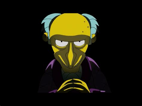 Après 26 Ans De Bons Et Loyaux Services, Mr Burns Et Ned