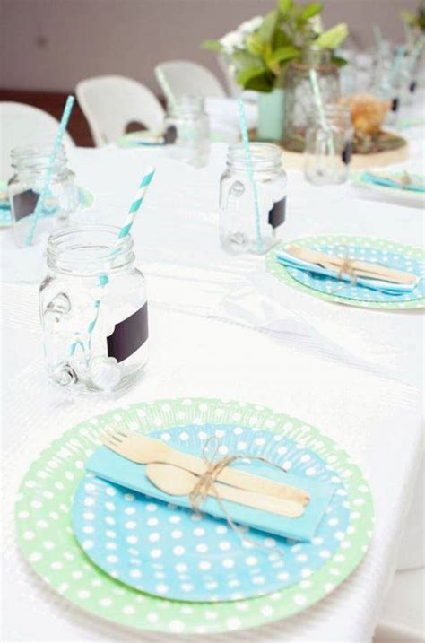 deco table de bapteme inspiration une f 234 te de bapt 234 me pour gar 231 on save the deco