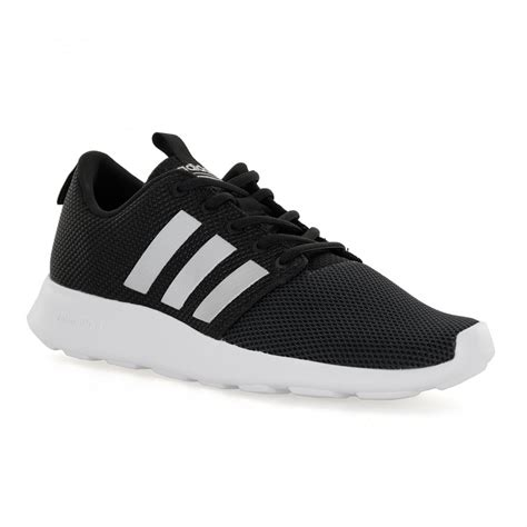 Adidas Neo Mens Cloudfoam Swift 117 Trainers (Black) - Mens from Loofes UK
