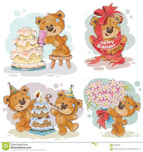 happy birthday teddy bear clipart   cliparts