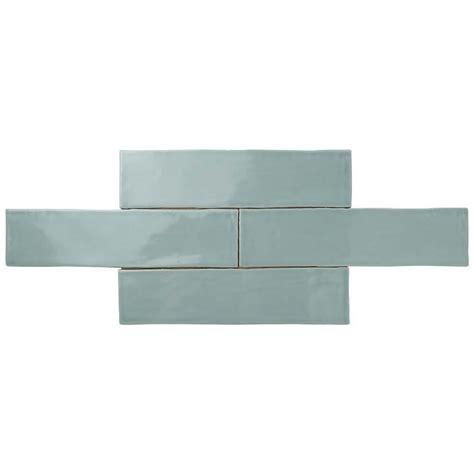 merola tile chester acqua 3 in x 12 in ceramic wall tile