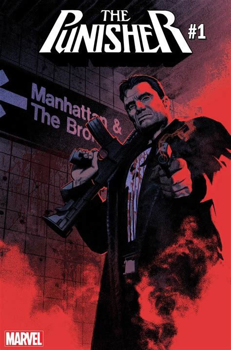 Marvel Relaunches The Punisher With New #1  Bounding Into