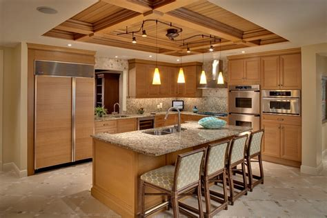 modern tropical kitchen design tropical homes design with relaxing ambiance 16350 7779