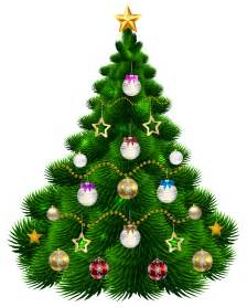 Ornaments For Fireplace by Beautiful Christmas Tree With Ornaments Png Clip Art Image