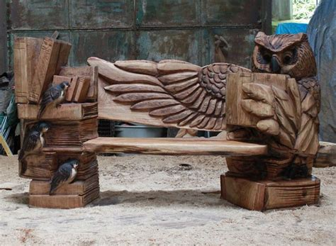 chainsaw sculptor ray wirick wood carving