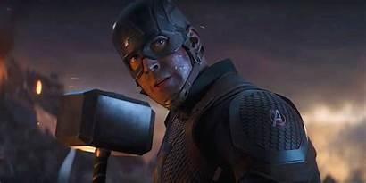 Captain America Hammer Endgame Mjolnir Thor Avengers