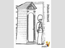Palace Guard Free Colouring Pages
