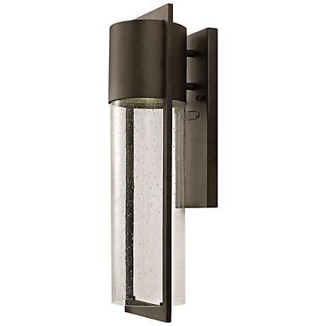 hinkley shelter 20 1 2 quot h led buckeye outdoor wall light
