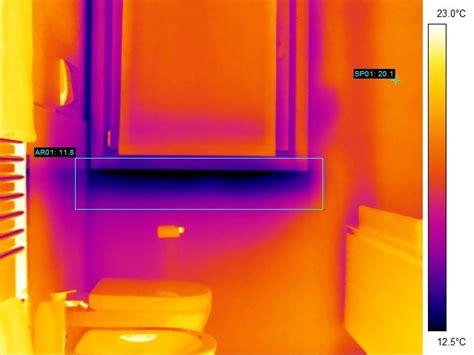 ponte termico davanzale termografia per l analisi dei ponti termici secondo la